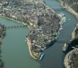 Passau Dreiflüsseeck
