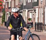 Radfahrer Volendam