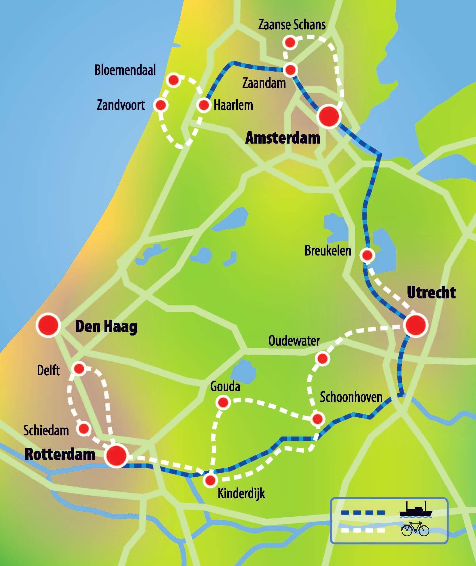 Niederlande: Süd-Holland Tour