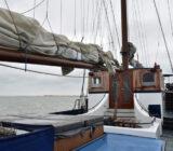 Zu wenig Wind um zu segeln