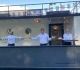 Crew auf dem Schiff