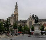 Antwerpen Rubenshaus und OLV Kathedrale