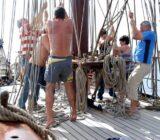 Atlantis people on deck