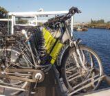 Fahrräder auf dem Schiff