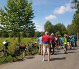 Pause auf der Radtour