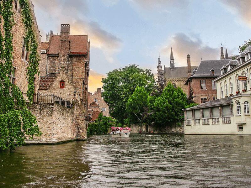 Belgien Brügge Brüssel Vv Premium Boat Bike Tours