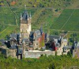 Cochem Mosel-Blick aufs Schloss
