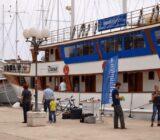 Kroatien Süddalmatien Schiff