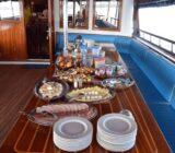 Kroatien Essen an Bord