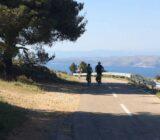 Radfahrer unterwegs