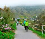 Cycling along the Moselle