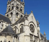 Frankreich Champagne Epernay Kathedrale