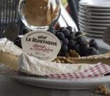 Frankreich Champagne Käse und Wein