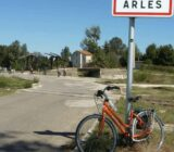 Frankreich: Provence-Camargue Fahrrad in Arles