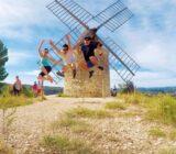 Römische Windmühlen