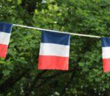 Französische Flaggen