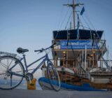 Ionian Islands boat bike