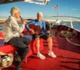 Entspannung an Bord