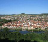 Karlstadt Blick von der Burg