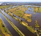 Kinderdijk - Mühlen Luftbild
