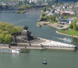 Koblenz Blick auf das deutsche Eck