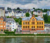 Koblenz mit Blick auf den Fluss