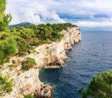 Kroatien Telascica Kliff