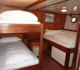 Princeza Diana cabin quadruple double+bunk