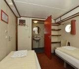 Quo Vadis cabin twin