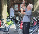 Utrecht Gast macht ein Bild