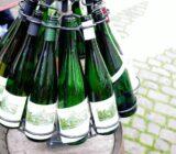 Leere Weinflaschen