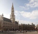 Brüssel Grote Markt Stadthalle