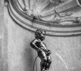 Brüssel Manneken Pis Statue