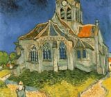 Vincent van Gogh church Auvers sur Oise