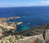 Meerblick von der Küste
