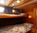 Mariagiovanna cabin twin extra bed