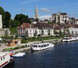 Burgunde Fluss