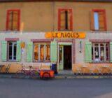 Frankreich Burgunde Dorf