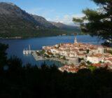 Blick auf Korčula