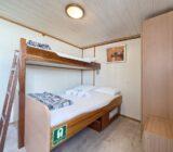 Doppelbett mit drittes Bett