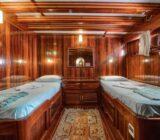 Zwei-Bettkabine
