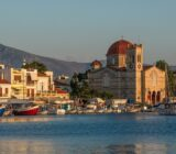 Sonnenuntergang Aegina
