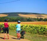 Pause machen Radfahrer