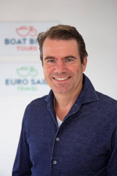 Laurens Winkel   Inhaber von Boat Bike Tours