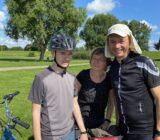 Gäste auf der Radtour