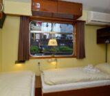 2-Bettkabine Oberdeck mit großem Fenster